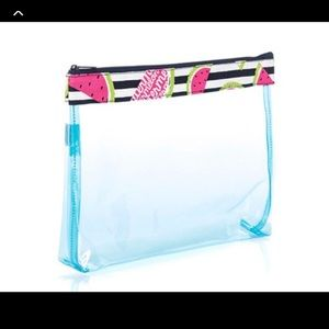 Thirty one in the clear zipper pouch